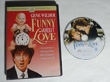 FUNNY ABOUT LOVE (DVD, 2004) Gene Wilder, Christine Lahti, Mary Stuart Masterson