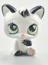 LPS Toys Cute White Cat Kitten Littlest Pet Shop Collection Action Figure Toys