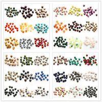 Wholesale Smooth Jade Gemstone Round Loose Spacer Beads DIY 4/6/8/10mm Jewelry