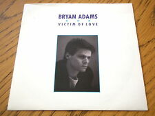 "Bryan Adams-Victim of love 7"" vinyl PS"
