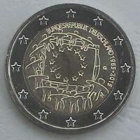 2 Euro Deutschland G 2015 30 Jahre Europaflagge unz.