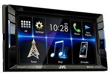 "JVC 6.2"" KW-V130BT Double DIN Bluetooth In-Dash DVD/CD/AM/FM Car Stereo"