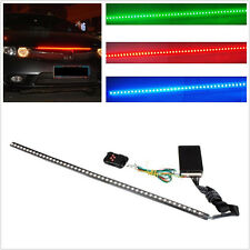 New 48LED 7 Color Vehicles Knight Rider Strip Light Under Spoiler Flashing Lamp