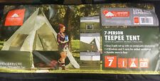 7 PERSON INSTANT TEEPEE FAMILY CAMPING LARGE TENT OZARK TRAIL 12' x 12' BASE