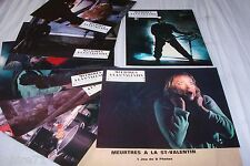 MEURTRES A LA St VALENTIN ! jeu photos cinema lobby cards fantastique 1980