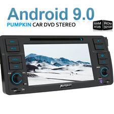 Pumpkin 4GB+32GB 8-kern Android 9.0 Autoradio DVD GPS DAB BT Für BMW 3er E46 M3