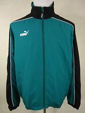 Schicke sportliche PUMA Fitness Jacke, Blouson grün-schwarz Gr. L