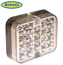12v White LED Reversing Light Lamp Unit By Ring E Approved Reverse Car Van Truck