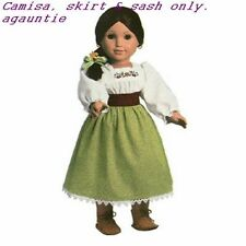 New American Girl Josefina's Harvest Outfit Cecile Felicity Kirsten Marie-Grace
