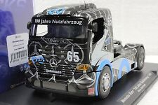 FLY 202102 MERCEDES BENZ SUPER TRUCK JAHRE 96' NEW 1/32 SLOT CAR IN DISPLAY CASE