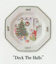 Nikko Christmas China Collector Plate 1997 NIB LOOK