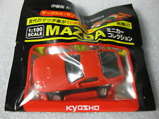 MAZDA RX-7 RED FC3S Kyosho 1:100 Scale Diecast Model Car .
