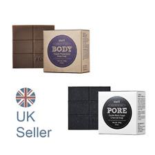 KLAIRS Gentle Black Sugar Charcoal / Supple Preparation Body Soap, UK Seller