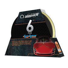 """AUTOSCRUB Nanoskin 6"""" Medium Grade Clay Pad for DA Polisher Better Than Clay Bar"""