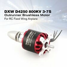 DXW D4250 800KV 3-7S Outrunner Brushless Motor for RC Fixed Wing Airplane PA