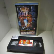 Turbulence - VHS Video Tape - Retro Vintage Films