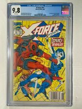 X-Force #11 1992 First Full Appearance of Domino CGC 9.8 Beautiful Case!