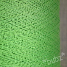 ZEGNA BARUFFA CASHWOOL PURE WOOL 2/30s LIME GREEN LACEWEIGHT COBWEB YARN 1 2 PLY