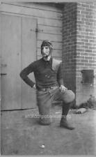 "Photo 1890s Univ Calif Berkeley ""Football Noseguard"""