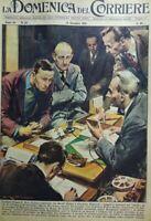 LA DOMENICA DEL CORRIERE N.50 1958 L'affare Fernaroli