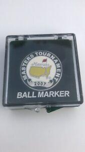 *NEW* 2007 Masters Golf Ball Marker