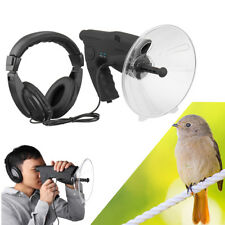 Parabolic Microphone Sound Amplifier Spy Ear Bionic Listening Device Up-To 300FT