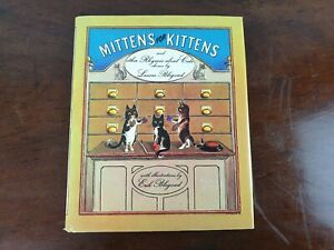 Mittens for Kittens and Other Rhymes About Cats Chosen by L.Blegvad Vintage Book