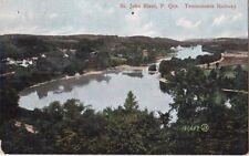 St. John River Quebec Temiscouata Railway 1907 - Unused - Fair to Good
