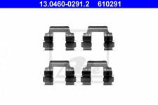 Zubehörsatz, Scheibenbremsbelag für Bremsanlage Vorderachse ATE 13.0460-0291.2