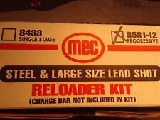 Mec Progressive 12Gauge Steel An Large Shot Convertion Kit New