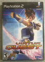Virtua Quest (Sony PlayStation 2, 2005) black label factory sealed-new ps2