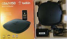 Belkin G54/N150 Wi-Fi N Router F9K1009 Black
