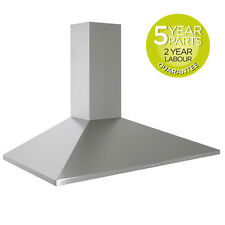 MyAppliances REF10903 90cm Stainless Steel Chimney Cooker Hood Extractor