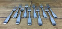 Vintage The Main Course Stainless Japan Lot of 10 Shrimp Pickle Forks