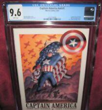 CAPTAIN AMERICA #1 MARVEL COMIC 2002 4th series - CGC 9.6
