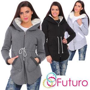 Ladies Zip Up Hoodie Hoodie Casual Jacket Coat Outwear Hooded Warm Blouse FZ80
