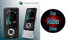 Sony ERICSSON w205 Black (Senza SIM-lock) 1,3mp FM Bluetooth WALKMAN come nuovo OVP