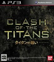 USED PS3 PlayStation 3 Clash of the Titans 93593 JAPAN IMPORT