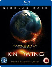 KNOWING (Nicolas Cage) - BLU-RAY - REGION B UK