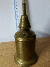 LAMPE OLYMPE Ancienne à Essence type Pigeon en Laiton