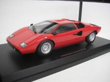 1 18 Kyosho Lamborghini Countach Lp400 1974-1978 Red