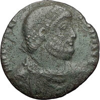 JULIAN II 361AD Bull TAURUS ZODIAC Large Authentic Ancient Roman Coin i59694