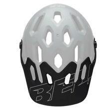Bell Super 3 / 3R Bicycle Cycle Bike Helmet Visor Matt Black / White - One Size