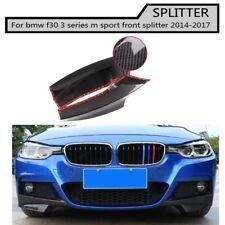 Carbon Fiber Racing Front Splitters Lip for BMW 3 Series F30 m sport 2013-2017