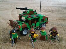 LEGO Hummer Vehicle moc - army military camouflage  - Custom minifigures