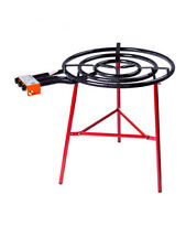 Paella Cooking KIT / SET: 70cm GAS BURNER Triple Ring + Reinforced Burner TRIPOD