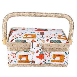Sewing Kit Basket Sewing Box Organizer Sewing Basket Sewing Organizer Sewing