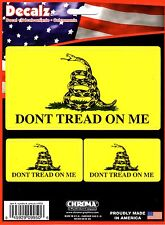 DON'T TREAD ON ME DECAL (9950)