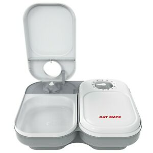 Cat Mate C200 2 Bowl Automatic Pet Feeder with Ice Pack
