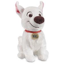 "NWT Disney Store Bolt Dog Soft Plush Toy Stuffed Animal 14"" Tall New"